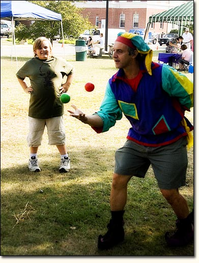 Street Festival Juggler