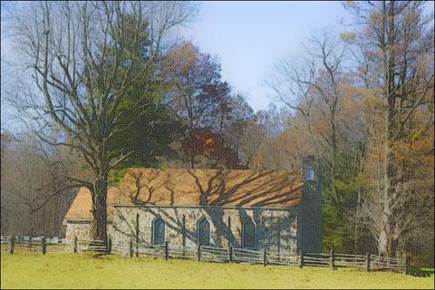 Rock Church – Blue Ridge Parkway, Virginia
