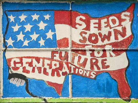 Mural from Growing Power, Milwaukee, WI
