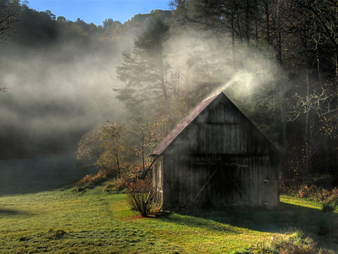 Barn photo by Fred First