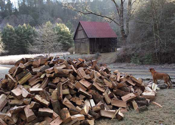 Firewood: Heats you twice. Or more.