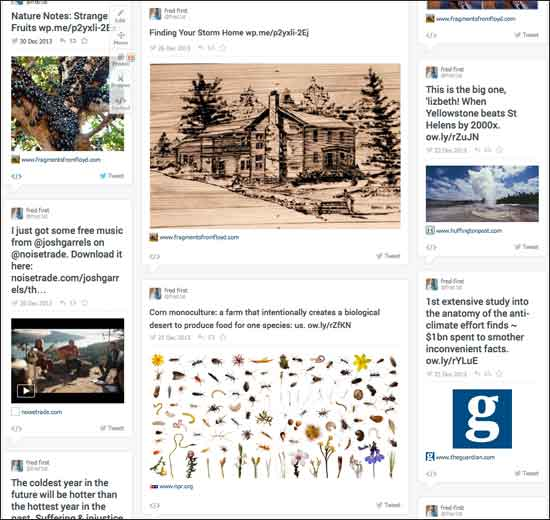 Blog, twitter, facebook and more come together at RebelMouse
